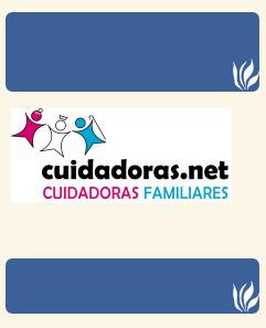 Enlace a la Web de Cuidadoras.net (enlace externo)