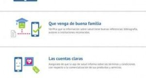 Uso de aplicaciones móviles de salud: recomendaciones básicas
