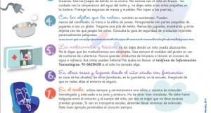 Decálogo de la prevención de accidentes infantiles