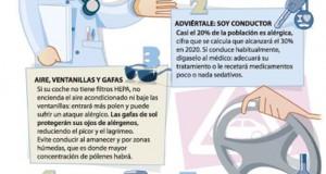 Cinco consejos para el conductor alérgico
